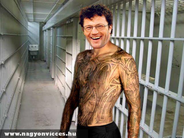Stohl András börtön tetkója :D