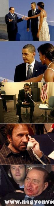 Amikor Obama elnök féltékeny :D
