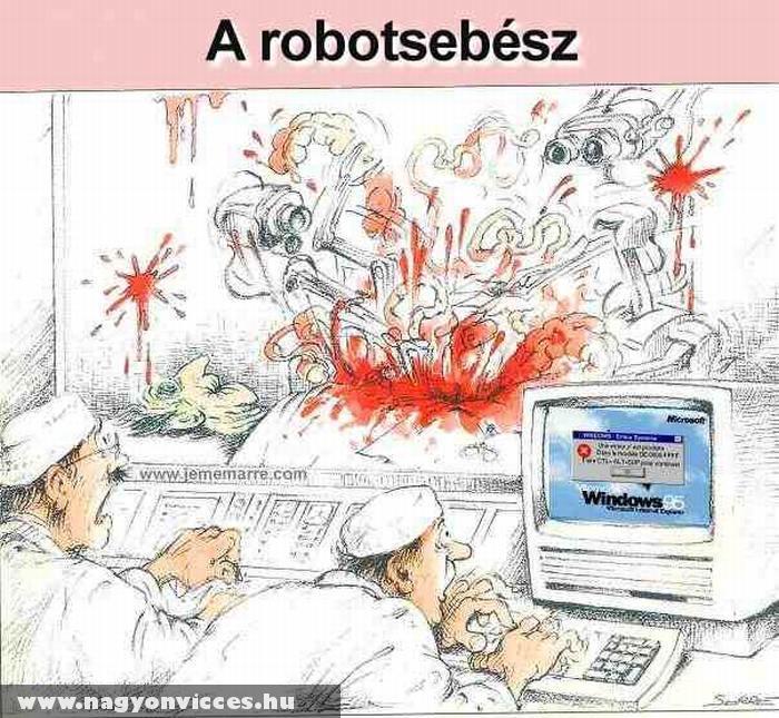 Windows vezérlésû robotsebész