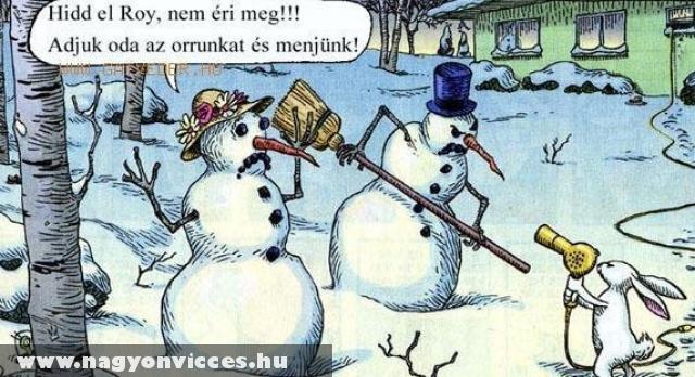 Elolvasztom a hóembert!