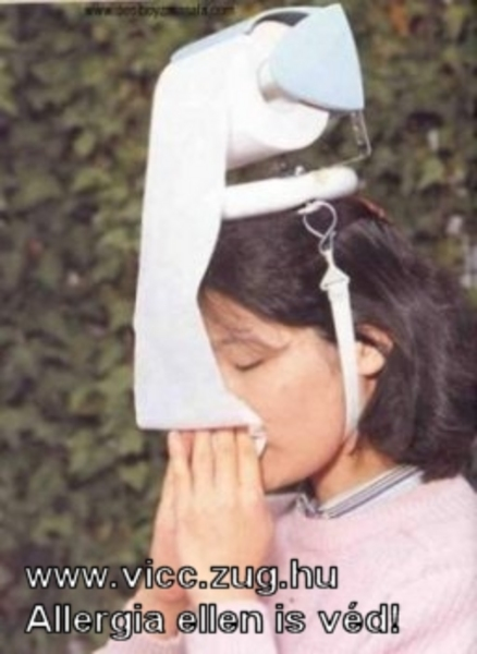 Allergia ellen is véd! Teccik érteni?!