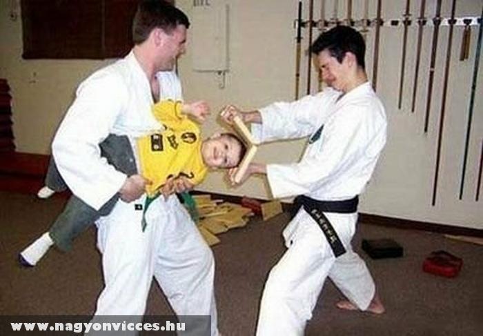 Küzdõsport - karate