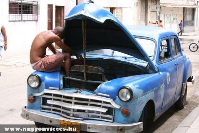Kényelmes autószerelés