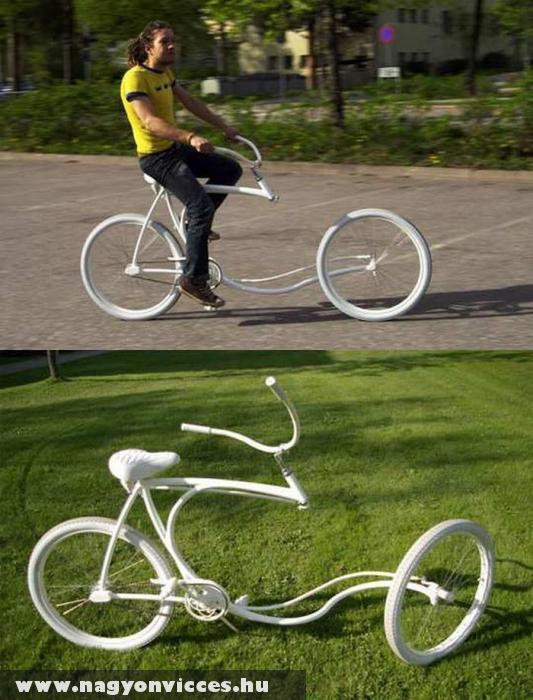 Különös bringa