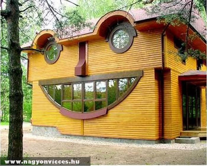 Vicces ház
