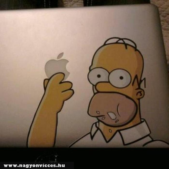 Így született meg az Apple logó