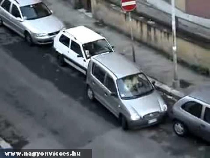 Lehetetlen parkolás