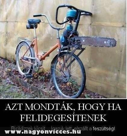 Biciklizés , megoldás
