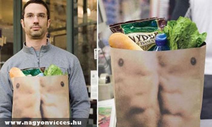 Bevásárlótasak férfiaknak