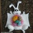 Kiterített húsvéti nyúl