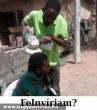 Hajvágás Afrikában