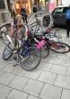 Extrém biciklitárolás