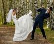 Különös esküvői fotó