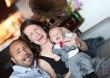 Meghitt családi fotó