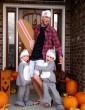 Ötletes halloweeni jelmez