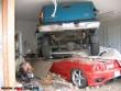 Apu beparkoltam a ferrari mellé, vagyis fölé