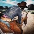 Pink tangás cowboy