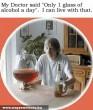 Naponta 1 pohár alkohol