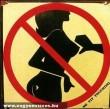 A tapizás nem megengedett