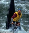 A rafting veszélyes sport