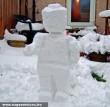 Lego hóember