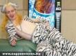 Szexi fehér tigris