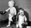 Monokli a baba edzésen!
