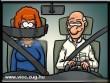 45%-kal kevesebb baleset van az új biztonsagi öv miatt