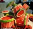 Dinnyébõl készült dobszerkó