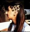 Leopárdmintás frizura