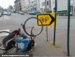 KRESZ-tisztelõ kerékpáros