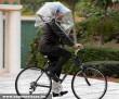 Esernyõ bicikliseknek