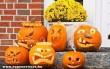 Halloween tök variációk