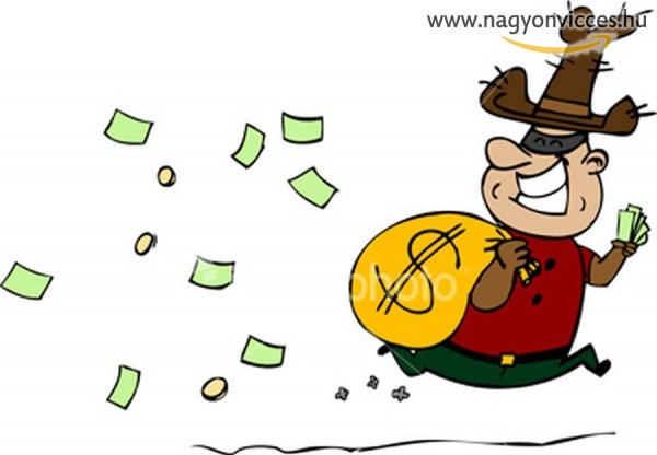 Balfék bankrabló