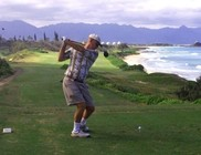 Kezdő golfozók